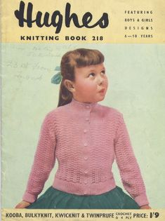 The Vintage Pattern Files: Free 1950's Knitting Patterns - Hughes Knitting Book No. 218