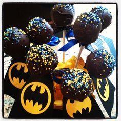 I ONLY REPINNED THIS TO FEEL LIKE I AM PART OF SOMETHING BIGGER THAN MYSELF. ALSO. ALWAYS BE YOURSELF. UNLESS YOU CAN BE BATMAN. ALWAYS BE BATMAN WITH THESE BATMAN MINI STICK CAKES. peace out homies