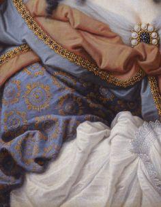 1637 (probably) Portrait of Vittoria della Rovere (1622-1667) as Saint Vittoria by Mario Balassi