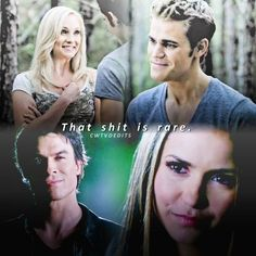 """634 Likes, 26 Comments - The Vampire Diaries   5.3k (@cwtvdedits) on Instagram: """"[Quote edit] Sorry kc shippers, don't take this personally, but in TVD according to the facts, they…"""""""