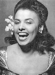 Lena Horne, she is, was and will always remain one of the best. Beautiful inside and out.....