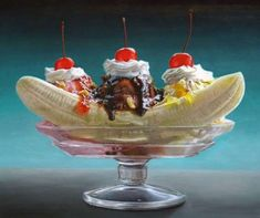 Delicious Dessert Paintings  This Mary Ellen Johnson Series is Mouth Watering