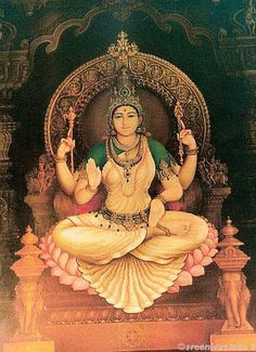 Sri Bhuvaneshvari by Shilpi Sri Siddalingaswamy of Mysore