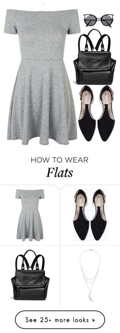 """Untitled #611"" by luhmartins on Polyvore featuring Topshop, Givenchy, Zara and Charlotte Russe"