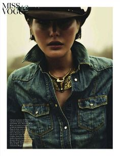 Cowgirl forever...vogue paris