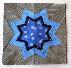 Paper Piecing Monday by Wombat Quilts - Free pattern over at 627Handworks.