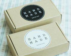 Ensemble de 10 Kraft papier cadeau, boîte bijoux kraft - 144 x 79 x 36 mm