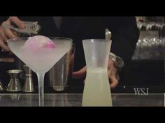 Looking for the perfect Valentine's Day cocktail, WSJ's Elva Ramirez traveled to the restaurant Daniel for the White Cosmopolitan. With its frozen orchid trapped in ice, it's a new way to give flowers.