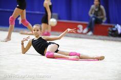 Dina AVERINA (RUS) Training