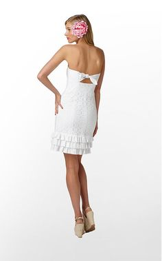it's almost little WHITE dress season! Yeah I love this..