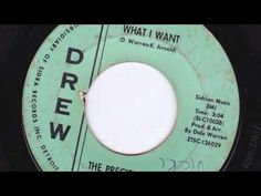WHAT I WANT - THE PRECISIONS - YouTube