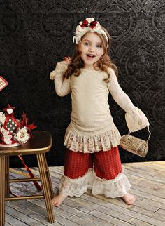 Persnickety Clothing - Lace Overlay Top in Cream Holiday Little Girl Fashion, Kids Fashion, Persnickety Clothing, Stylish Little Girls, Little Fashionista, Boutique Clothing, Girls Boutique, Baby Boutique, Holiday Outfits