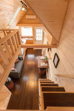 Porchlight Tiny House by Hideaway Tiny Homes