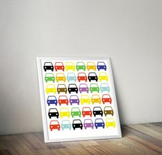 cars poster for kids room instant download poster by 4KIDSfactory, $3.00