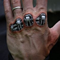 Biomechanical tattoo speed up and simplify the pistol for Biomechanical hand tattoo designs