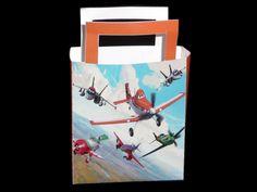 Traktatie tasje met de afbeeldingen van de vliegtuigen van Planes