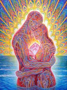Twin flames = deep soulful love