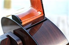Fay Guitars sound port and rounded heel block