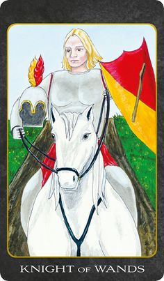 Knight of Wands - The Tarot House