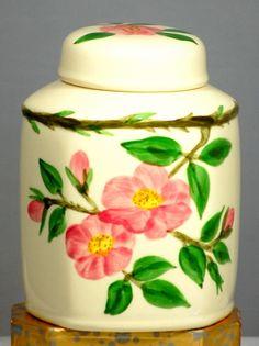 Franciscan Ware Desert Rose Tea Canister