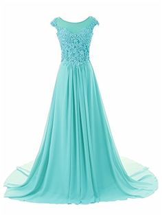 JAEDEN Women's Cap Sleeves Long Chiffon Lace Evening Gown Prom Dresses Baby Blue US22W JAEDEN http://www.amazon.com/dp/B00R4A43GQ/ref=cm_sw_r_pi_dp_CN5Awb1PB35RV