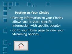 #google+ #hangoutsonair Posting to your circle