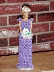 Bridesmaid Gown # 1 crochet pattern