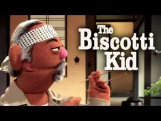 "Sesame Street: Cookie Monster is The Biscotti Kid (Karate Kid Parody) I think this could be a fun introduction to reminding kids how to ""listen."" Even if they don't get the Karate Kid references the video still makes sense. As long as the librarian and classroom teacher can not burst into giggles."