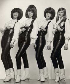 the shangri-las..saw them with the Ronnetts