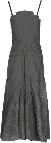 9eda4f83fa5 Women's Gray Le Jean De Marithé + François Girbaud Short Dress