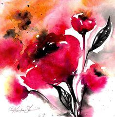 Floral 15  Original by Kathy Morton Stanion