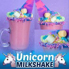 Unicorn Milkshake, Easy Dinner Recipes, Easy Meals, Unicorn Foods, Milkshake Recipes, Healthy Eating Tips, Food Humor, Unicorn Party, Love Food