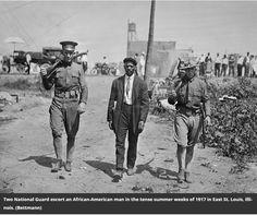East St. Louis Riots of 1917                                                                     (The East St. Louis Race Riot Left Dozens Dead, Devastating a Community on the Rise)