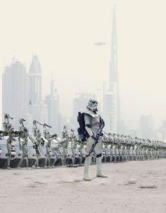 """Future Warriors.."" | Via: GenCept (#starwars #stormtrooper #battledroids)"