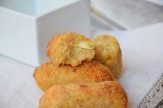 Crocchette di pane e patate al forno