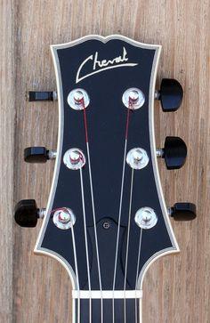 Cheval Guitars Lola headstock