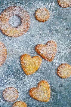 shortbread cookies mandarin