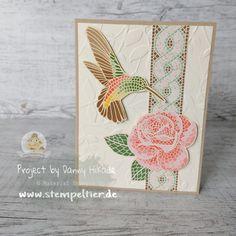 hummingbird mosaic mood card by Danny Hikade Handmade Birthday Cards, Greeting Cards Handmade, Mood Card, Horse Cards, Mosaic Madness, Stampin Up Catalog, Paper Cards, Cards Diy, Bird Cards