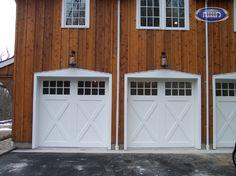 Heritage Classic Model EX08S Wood Garage Door
