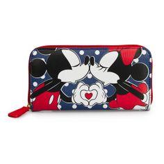 Minnie & Mickey Kissing Wallet - Wallets - Disney - Brands