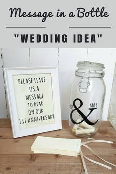 There are cards for guests to write their wishes or marriage tips on for the happy couple,to be opened on the couples first wedding anniversary. #ad