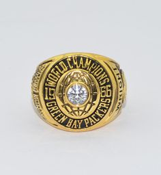1966 Green Bay Packers Super Bowl CHAMPIONSHIP ring Copper size 11.5
