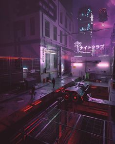 Running In The Night: The Superb Cyberpunk Artworks By Daniele Gasparini Arte Cyberpunk, Cyberpunk Aesthetic, Night Aesthetic, Neon Aesthetic, Graphic Studio, Graphic Design, Rome, Skier, Neo Tokyo