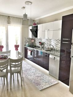 Interior Design Living Room, Living Room Decor, Bedroom Decor, Interior Architecture, Interior And Exterior, Contemporary Kitchen Design, Home Decor Kitchen, House Design, Ideas