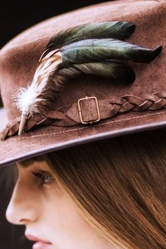 Millet - Feather Hat Pin