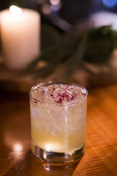 """""""El Chombo"""" a margarita with a pineapple chile chombo shrub and dehydrated amaranth picked from our organic garden #gardentoglass #craftcocktails"""