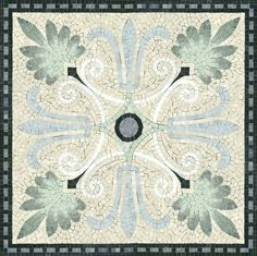 "Luxor 36"" x 36"" by Appomattox Tile Art"
