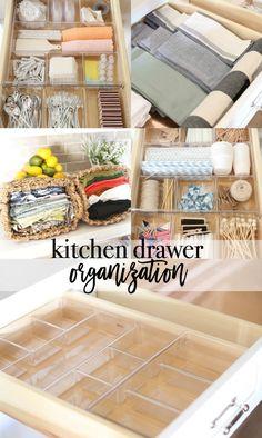 Organize Your Kitchen Drawers With Drawer Organization Ideas