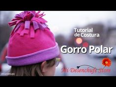Tutorial #27 - Como hacer un Gorro Polar - How to sew a Fleece Hat - YouTube