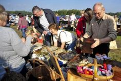 Sussex Surrey Car Boot Sale at Rusper Sunday Afternoon